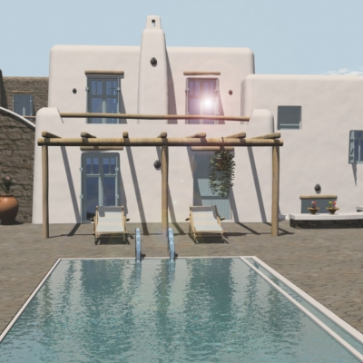 Complex of 19 small Villas with Pools